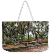 Bonaventure Cemetery Savannah Georgia Weekender Tote Bag