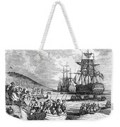 Boston: Evacuation, 1776 Weekender Tote Bag
