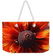 Brown Eyed Susan Weekender Tote Bag