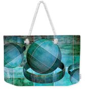 5 By 5 Ocean Geometric Shapes Weekender Tote Bag