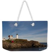 Cape Neddick Lighthouse Weekender Tote Bag