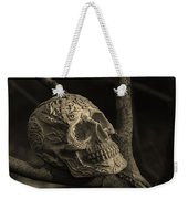 Celtic Skulls Symbolic Pathway To The Other World Weekender Tote Bag