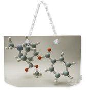 Cocaine Molecule Weekender Tote Bag