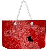 Cochabamba Street Map - Cochabamba Bolivia Road Map Art On Color Weekender Tote Bag