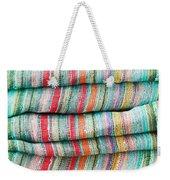 Colorful Cloth Weekender Tote Bag