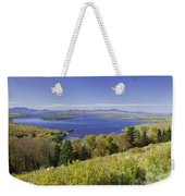 Colorful Fall Forest Near Rangeley Maine Weekender Tote Bag