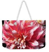 Dahlia Named Myrtle's Brandy Weekender Tote Bag