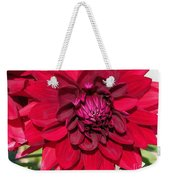 Dahlia Named Nuit D'ete Weekender Tote Bag