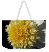 Dahlia Named Platinum Blonde Weekender Tote Bag