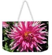 Dahlia Named Pretty In Pink Weekender Tote Bag