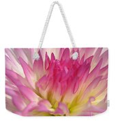 Dahlia Named Star Elite Weekender Tote Bag