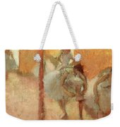 Dancers Weekender Tote Bag by Edgar Degas