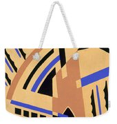 Design From Nouvelles Compositions Decoratives Weekender Tote Bag by Serge Gladky