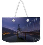 Diving Board Weekender Tote Bag