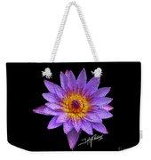 Dots Of Flowers Weekender Tote Bag