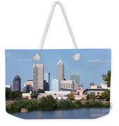 Downtown Indianpolis Indiana Skyline Weekender Tote Bag