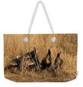Eastern Wild Turkeys Weekender Tote Bag