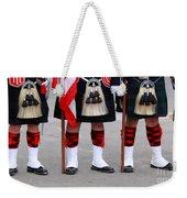 English Uniforms Weekender Tote Bag