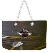 European Common Brown Frog Weekender Tote Bag