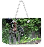Extreme Biking In Alaska Weekender Tote Bag