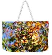 Fall Abstract Weekender Tote Bag