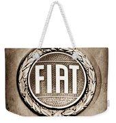 Fiat Emblem Weekender Tote Bag