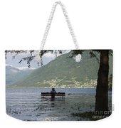 Flooding Lake Weekender Tote Bag