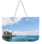 Florida Beach Scene Weekender Tote Bag