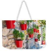 Flower Pots Weekender Tote Bag