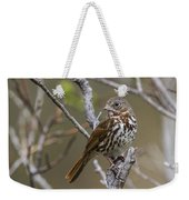 Fox Sparrow Weekender Tote Bag