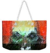 Halloween Mask Weekender Tote Bag