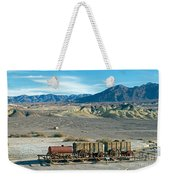 Harmony Borax Works Death Valley National Park Weekender Tote Bag