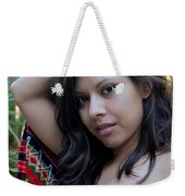 Hispanic Beauty Weekender Tote Bag