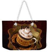 Cappuchino Coffee Gallery Weekender Tote Bag