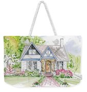 House Rendering Weekender Tote Bag