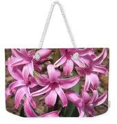 Hyacinth Named Pink Pearl Weekender Tote Bag