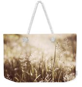 June Grass Flowering Weekender Tote Bag