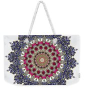 Kaleidoscope Colorful Jeweled Rhinestones Weekender Tote Bag