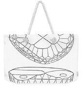 Koh-i-noor Diamond Weekender Tote Bag