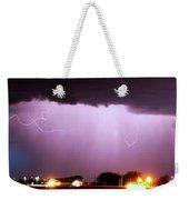 Late Evening Nebraska Thunderstorm Weekender Tote Bag