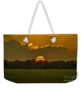 Lowcountry Sunset Over The Marsh Weekender Tote Bag