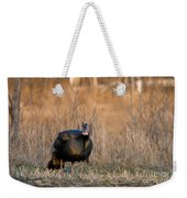 Male Eastern Wild Turkey Weekender Tote Bag