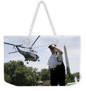 Marine One Weekender Tote Bag
