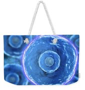 Microscopic View Of Human B-cells Weekender Tote Bag