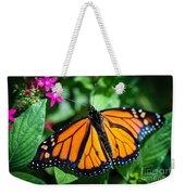 Monarch Danaus Plexippus Weekender Tote Bag