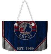 Montreal Expos Weekender Tote Bag