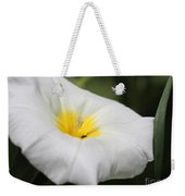 Morning Glory Named White Ensign Weekender Tote Bag