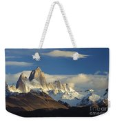 Mount Fitzroy, Argentina Weekender Tote Bag