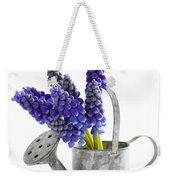 Muscari Or Grape Hyacinth Weekender Tote Bag