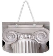 Neoclassical Ionic Architectural Details Weekender Tote Bag